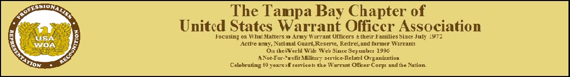 Tampa Bay Chapter of Warrant Officers Association